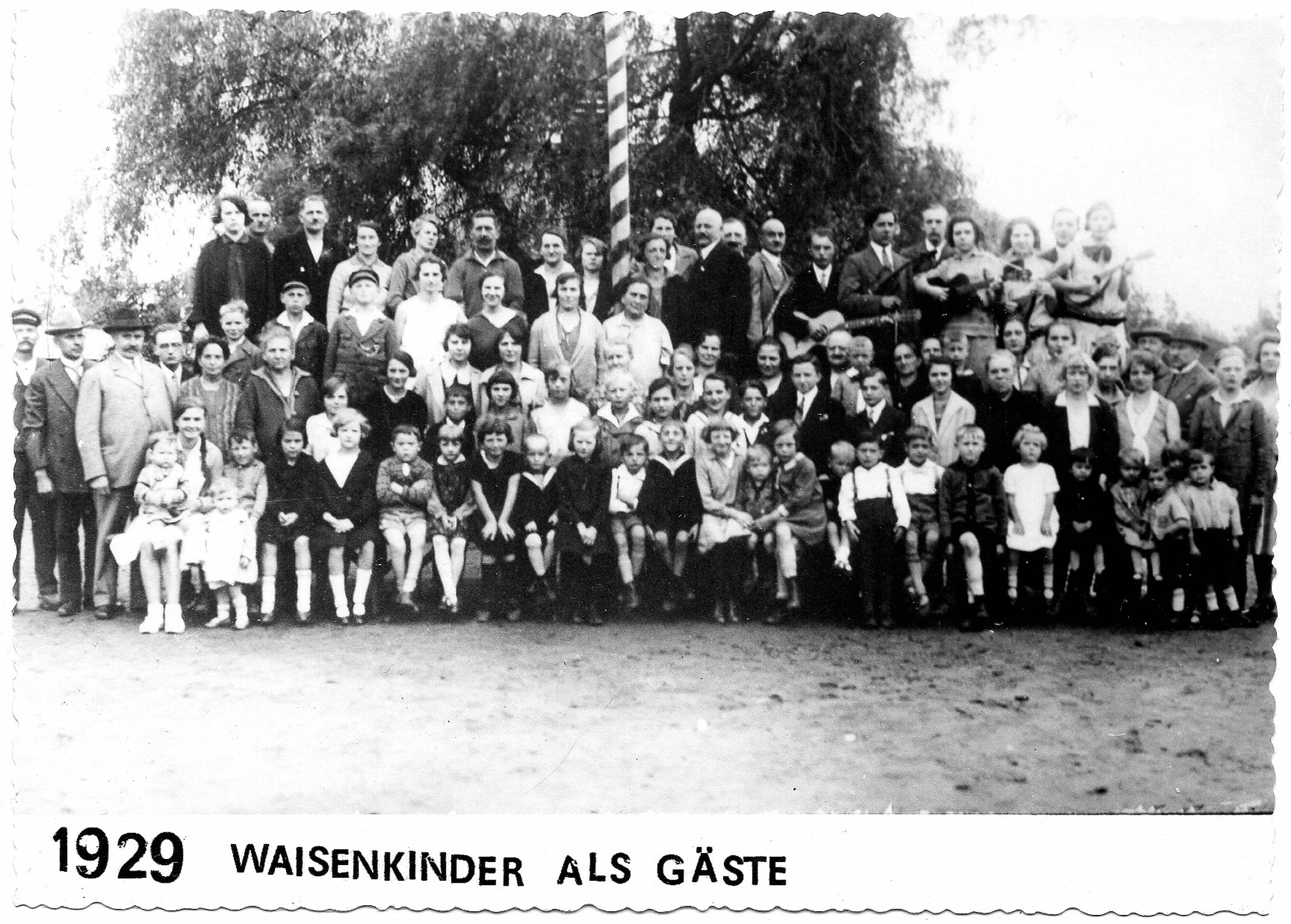 Waisenkinder als Gäste